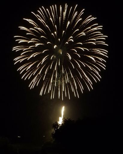 Fireworks Over The River Display 2018