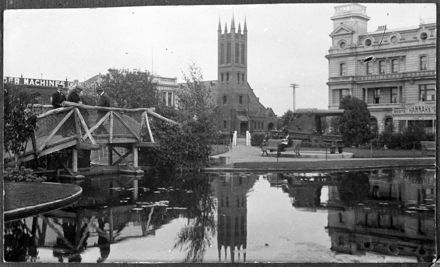 Across the Lakelet to Church Street West