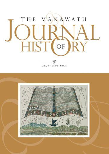 Manawatu Journal of History: Volume 5