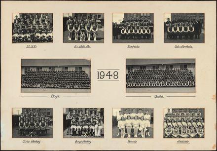 Palmerston North Technical School Photographs, 1948