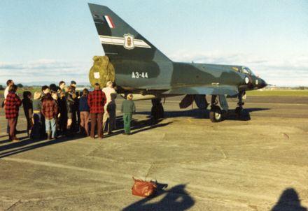 Cub visit to Ohakea Air Base
