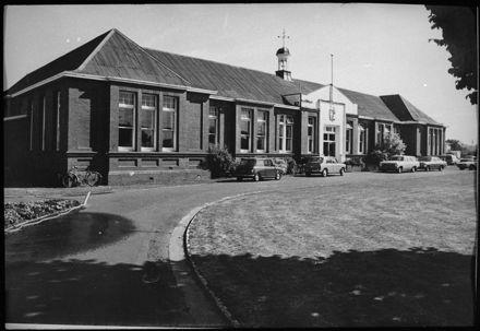 Main Block of Palmerston North Boys' High School