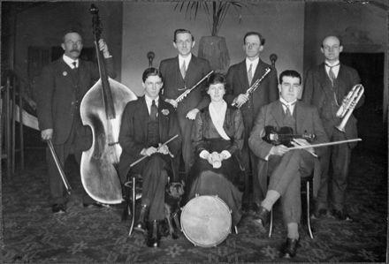 Movie theatre orchestra