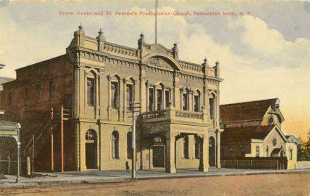 Opera House and St Andrews Church, Church Street