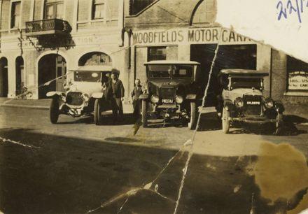 Woodfields Motor Garage, Cuba Street