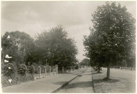 Entrance to Victoria Esplanade Gardens, Fitzherbert Avenue