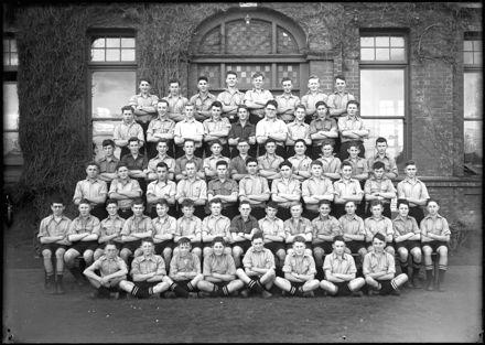 Palmeston North Boys High School choir