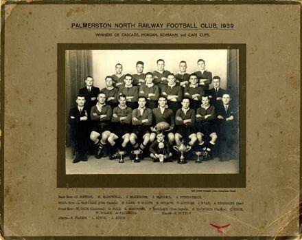 Palmerston North Railway Football Club, 1939