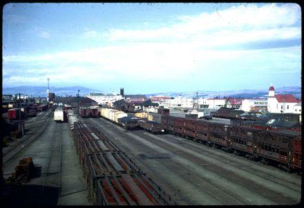 Old railway yards