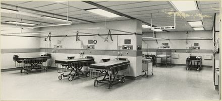 Recovery Room at Palmerston North Public Hospital