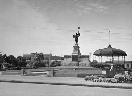 War Memorial in The Square