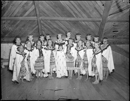 """Successful Maori Girls"" Competition Winners"