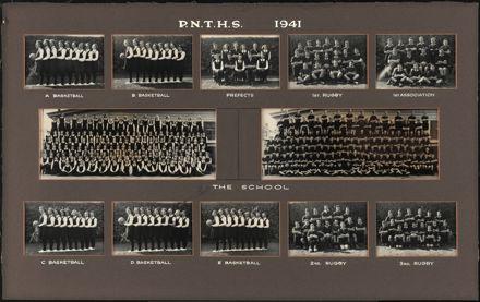 Palmerston North Technical School Photographs, 1941
