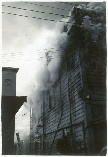 Alan Bramwell Drapery Fire