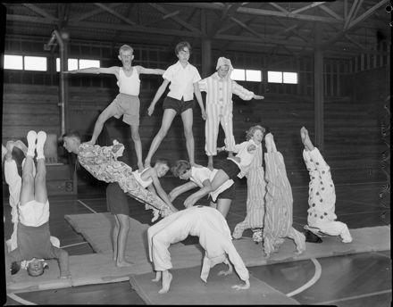 """Final Rehearsal For Display"" YMCA Gymnastics Display"