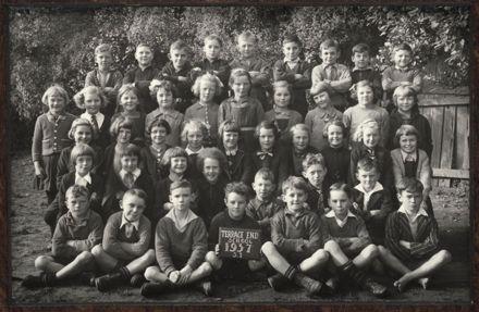 Terrace End School - Standard 1, 1937