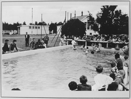 Swimming Baths, Fitzherbert East School