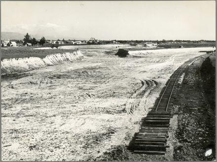 Construction of Milson Railway Deviation