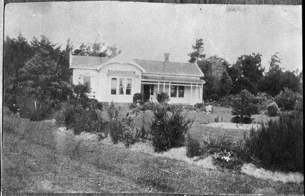 'Cluny Park' homestead, Rangitikei Line