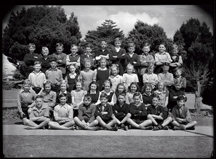 Central Normal School Class Photo