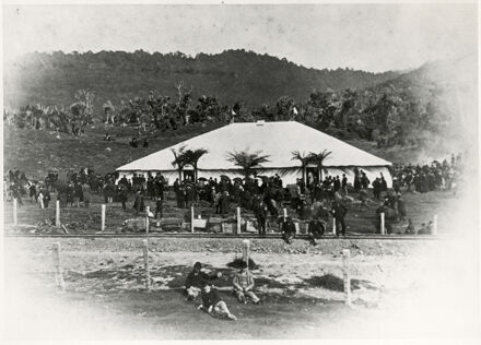 Opening of the Wellington - Longburn Railway