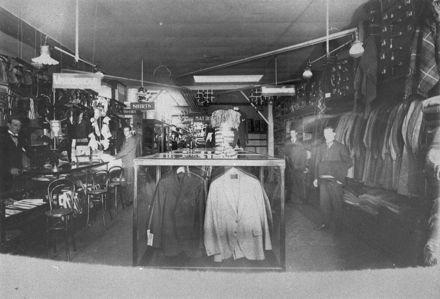 Menswear department of C M Ross Co. Ltd