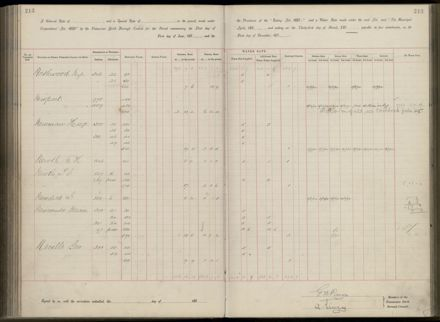 Palmerston North Rate Book, 1893 - 1896, 218