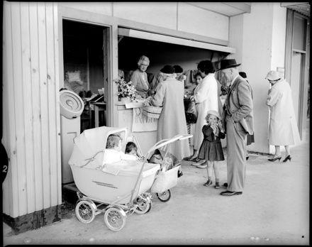 """Squares Shops Busy Day"" Māori Women's Welfare League"