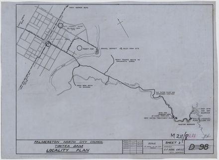 Tiritea Dam Locality Plan
