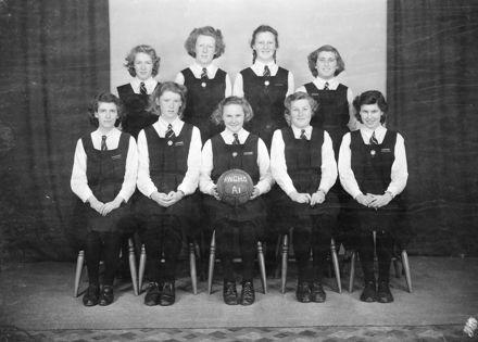 Palmerston North Girls High School 'A1' Basketball Team
