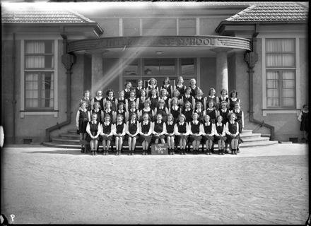 'Ikatere' girls, Form II, Palmerston North Intermediate School