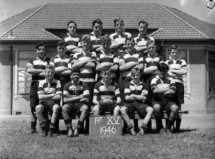Palmerston North Intermediate Normal School: First XV rugby team