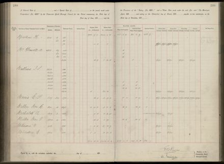 Palmerston North Rate Book, 1893 - 1896, 213