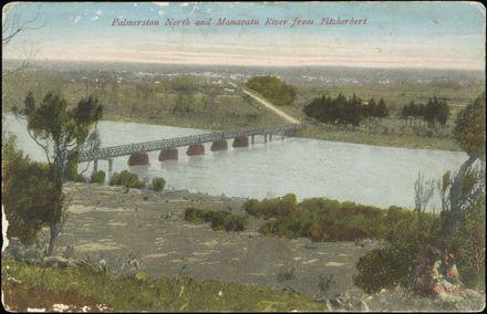 Fitzherbert Bridge across the Manawatu River