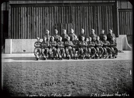 NZASC 2nd Field Ambulance Group at Awapuni Racecourse