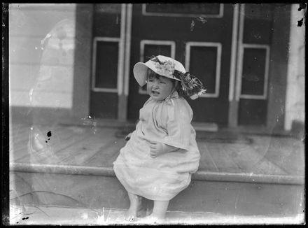 Toddler Wearing Hat