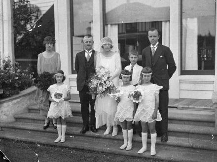Wedding of John Gardner and Nina Coombs