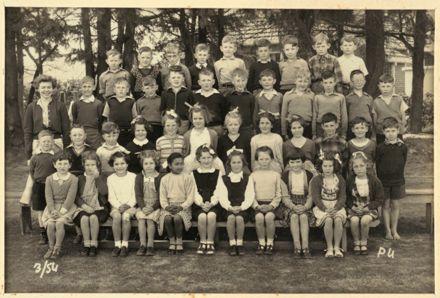 Terrace End School - Primer 4, 1954