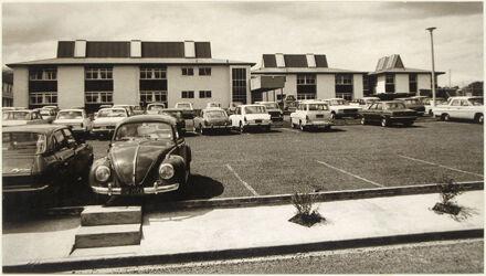 Nurses Hostel and car park, Palmerston North Public Hospital