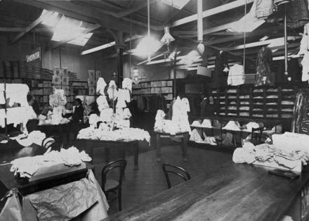 Women's wear department at C M Ross Co Ltd