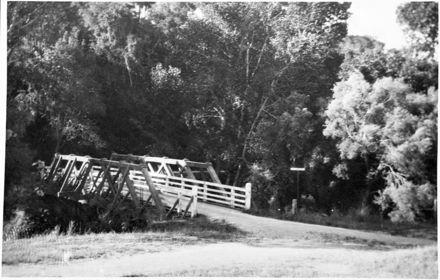 Bridge over Turitea Stream