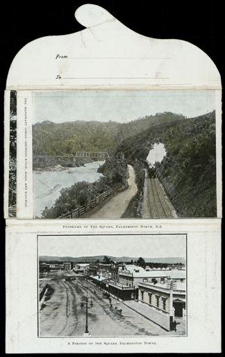Postcard Wallet - Palmerston North Views 4