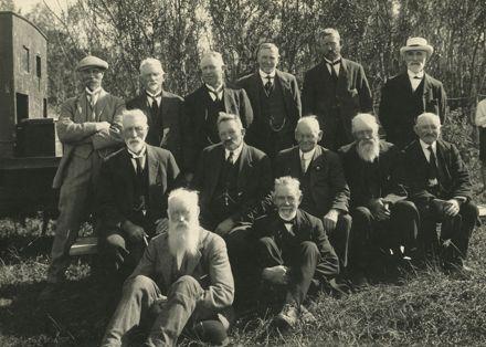 Group of Scandinavian settlers
