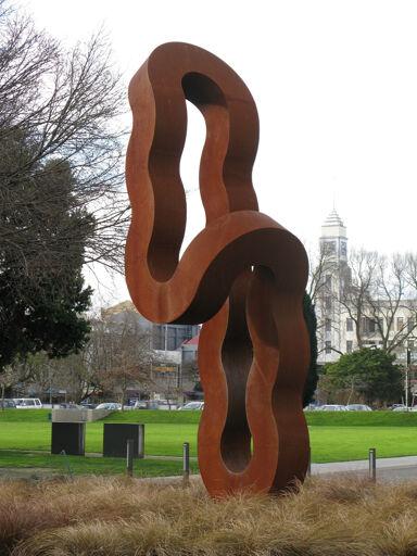 """""""Returning Column"""" Sculpture, The Square"""