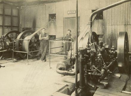 Engine room, Miranui Flaxmill, near Shannon
