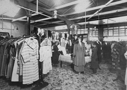Women's wear department at C M Ross Co. Ltd