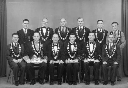 Group of Men - Freemasons