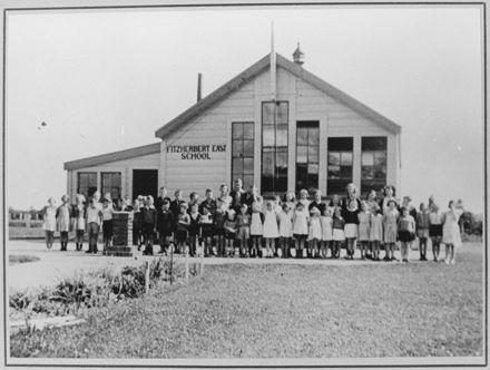 Fitzherbert East School Class Photo