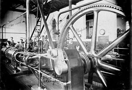 Engine Room, Longburn Freezing Works