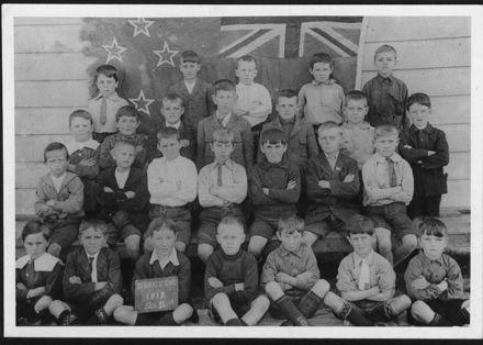 Terrace End School, Standard III, 1917